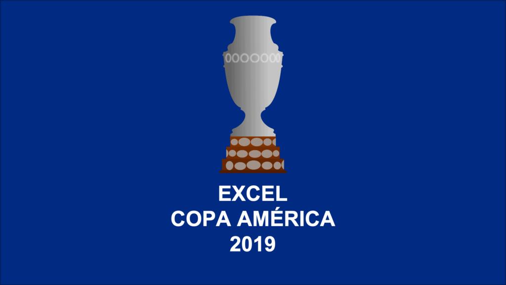 Excel Copa América 2019 Quiniela – Fixture