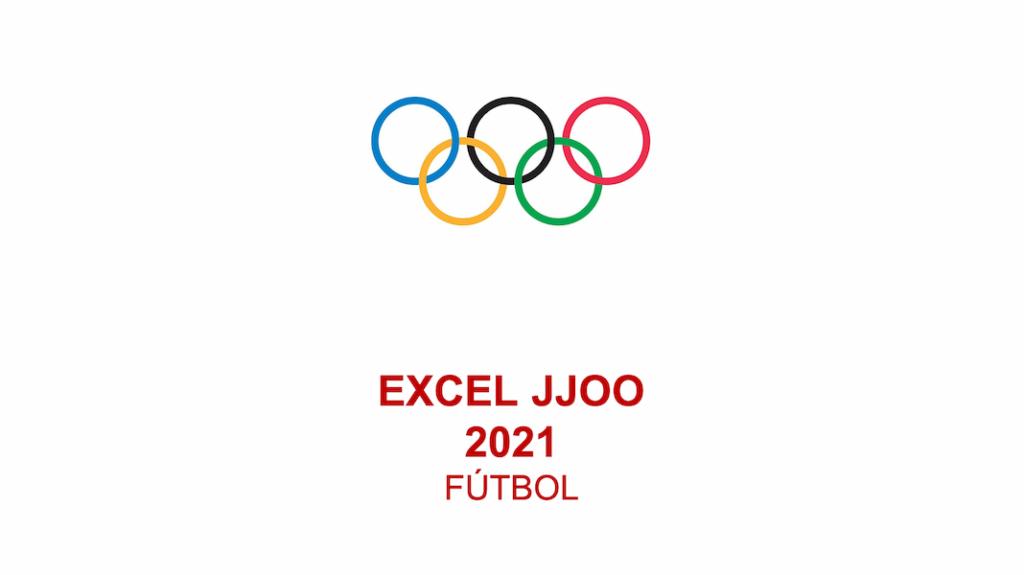 Cuadro Excel Juegos Olímpicos Fútbol